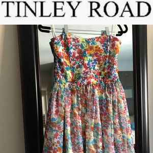 NWT TINLEY ROAD STRAPLESS DRESS